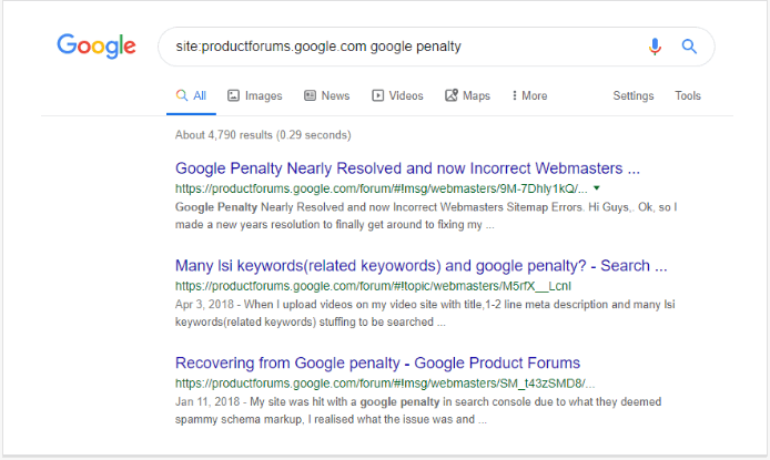 Finding answers directly using Google Search