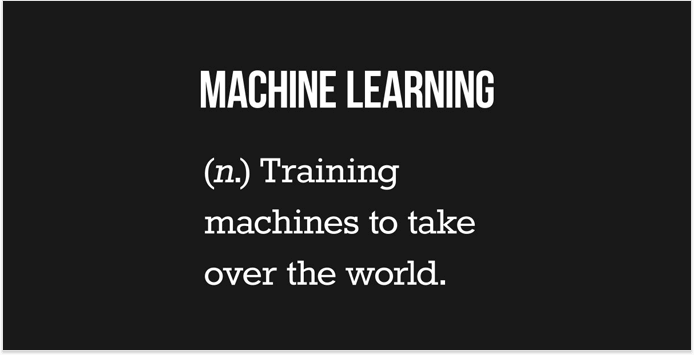 What is machine learning and AI