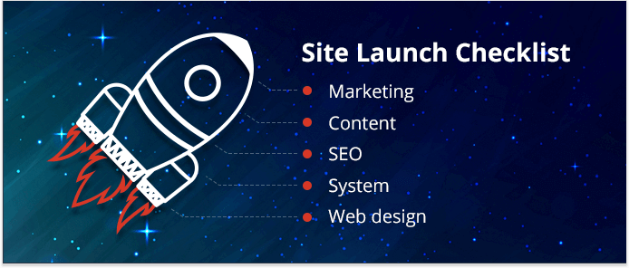 Site launch checklist