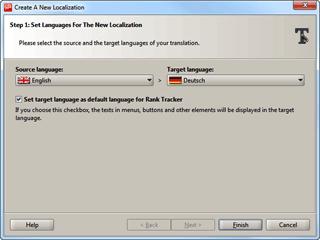Starting a new localization