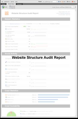 Site Structure Audit Report