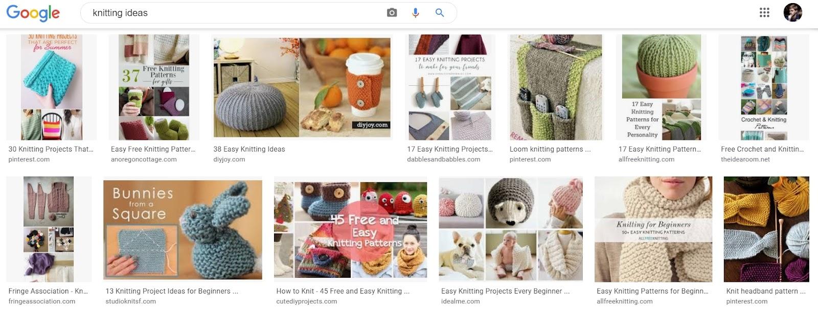 google images SERP