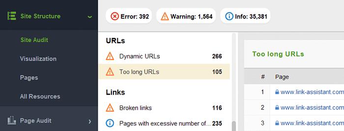 Inspect URLs for SEO-friendliness