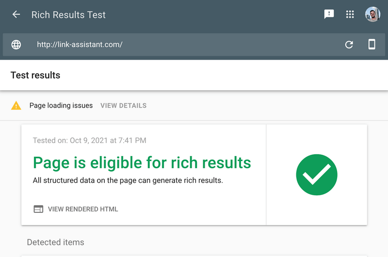 How to run Google Rich Results Test